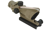 Trijicon ACOG® 4x32 Dual Illuminated Red Chevron .223 BAC Reticle w/ TA51 Mount-CK-FDE 100310