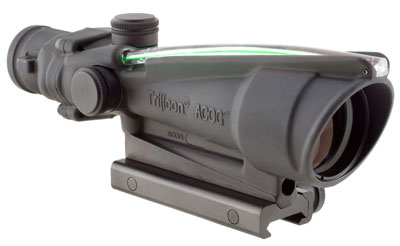 Trijicon 3.5x35 ACOG, Dual Illuminated Green Crosshair 300 BLK Reticle w/ TA51 Mount MPN TA11-C-1004 TA11-C-100416