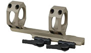 "ADM AD-RECON 34mm 20 MOA FDE Cantilever Scope Mount 2"" Offset. Used UA1759"