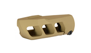 Cadex MX1 5/8-24 Thread Tan Muzzle Brake 3850-028