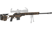 "Cadex Defense Patriot Lite 338 Lapua 27"" Hybrid Stealth Shadow CDX33-LITE-338-27-HSB-FT"