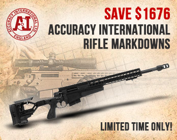Accuracy International Rifle Markdowns