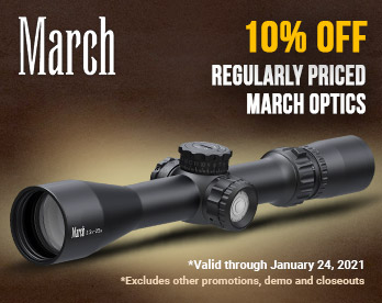 10% Off March Scopes