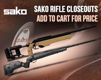 Sako Rifle Closeouts - Save Hundreds!