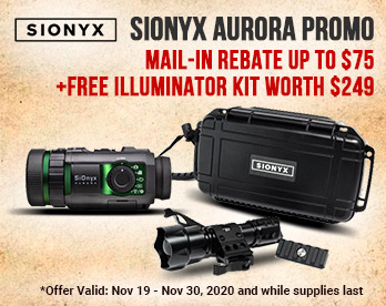 Sionyx Holiday Promo
