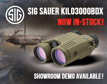 SigSauer-Kilo3000BDX-Back In-Stock!