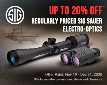 Up To 20% Off Sig Sauer Electro-Optics