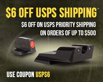 Use Code USPS6 - $6 Off USPS Shipping