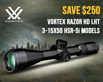 Save up to $250 - Vortex Razor HD LHT