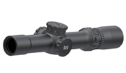 March Compact Tactical 1-10x25 FD-2 Reticle Illuminated SFP Riflescope D10V24TIML