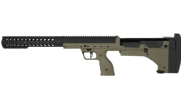 Desert Tech SRS (A1) two-tone Left Hand Rifle Chassis. Black with Dark Earth Stock DT-SRS-SBFM00L|DT-SRS-SBFM00L