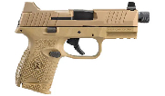 FN 509 Compact Tactical 9mm FDE/FDE Pistol w/ (1) 12rd, (1) 15rd, and (1) 24rd Mags 66-100780