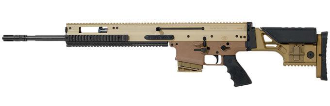 FN SCAR 20S 7 62x51mm Flat Dark Earth 20 10rd Semi Automatic Rifle 38996