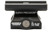 Geissele Super Precision APT1 Black Mount for Aimpoint T1 & T2 w/ Lower 1/3 Co-Witness 05-469B