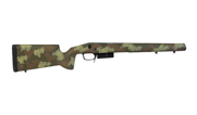 Manners T2 Remington 700 SA DBM Varmint Molded Woodland Stock