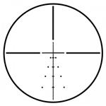 Steiner 2.5X-10X-42mm S-1 ret. Riflescope 5001 - Small Blemish|5001
