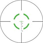 Green Segmented Circle