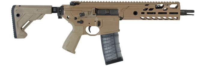Sig Sauer MPX 9mm 4 5 FDE Pistol with PSB