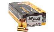 Sig Sauer Ammo 9mm 147gr Elite Ball FMJ 50/Box E9MMB3-50