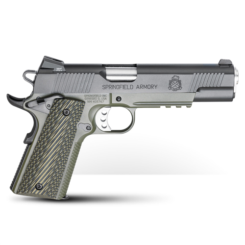Springfield Armory 1911 Loaded  45 ACP Stainless Pistol w/ Instant Gear Up  PX9151LIGU