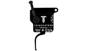 TriggerTech Rem 700 Clone Special Flat Clean Blk/Blk Single Stage Trigger R70-SBB-13-TNF