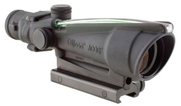Trijicon 3.5x35 ACOG Nickel Boron Dual Illum Green Chevron M193 Ballistic w/ TA51 Mount 100293 100293
