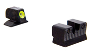Trijicon Beretta 90-TWO HD Night Sight Set - Yellow Front Outline BE112Y BE112Y