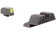 Trijicon HD Night Sight Set Yellow Front Outline for Glock Models 17, 17L, 19, 22, 23, 24, 25,  26,  GL101Y