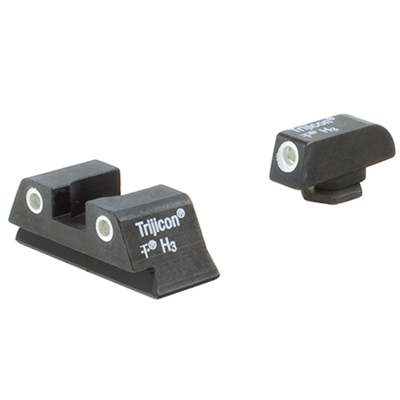 Trijicon Bright & Tough Night Sight Set - for Glock Model 42 GL13-C-600777|600777