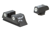 Trijicon Bright & Tough Night Sight Set - for Glock Model 42 GL13-C-600777