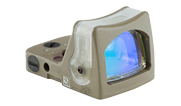 Trijicon RMR Dual Illum 12.9 MOA green triangle FDE - UA1332