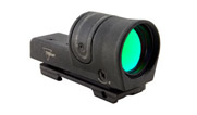 Trijicon 1x42 Reflex, Amber 6.5 MOA Dot Reticle, Reflex Base (with RX23 A.R.M.S.® #15 Throw Lever Fl 800038