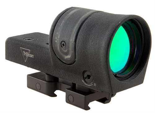 Trijicon 1x42 Reflex, Amber 4.5 MOA Dot Reticle, Reflex Base (with RX14 Flattop Mount) 800045