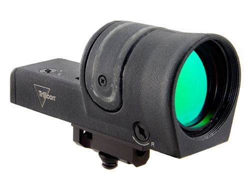Trijicon 1x42 Reflex, Amber 4.5 MOA Dot Reticle, Reflex Base (with RX25 M16/AR15 Top of Handle Mount 800048