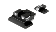 Trijicon S&W 9mm Long Rear 3 Dot Set SA07 600356