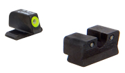 Trijicon Springfield XDS HD Night Sight Set - Yellow Front Outline 600751 SP102-C-600751