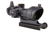 Trijicon TA01 ACOG® 4x32 Tritium Only, Center Illuminated Amber Crosshair .223 Reticle w/ BUIS & TA5 100317