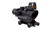 Trijicon 4x32 ACOG LED Red Crosshair .223 Reticle w/Colt Knob Mount - LED 3.25 MOA Red Dot RMR Type 2 TA02-C-100558
