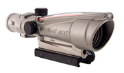 Trijicon 3.5x35 ACOG Nickel Boron Dual Illum Red Chevron .223 Ballistic w/ TA51 Mount 100200 100200