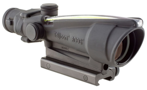 Trijicon 3.5x35 ACOG, Dual Illuminated Amber Crosshair 300BLK Reticle w/ TA51 Mount MPN TA11-C-10041 TA11-C-100415