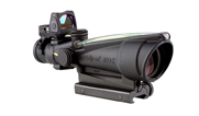 Trijicon ACOG 3.5x35 Riflescope (Dual Illuminated Green Chevron .223 Ballistic Reticle w/TA51 Mount) TA11-C-100565