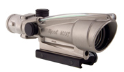 Trijicon 3.5x35 ACOG Nickel Boron Dual Illum Red Crosshair .223 Ballistic w/ TA51 Mount 100204 100204