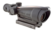 Trijicon 3.5x35 ACOG Nickel Boron Dual Illum Red Chevron M193 Ballistic w/ TA51 Mount 100291 100291
