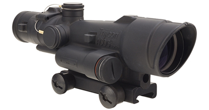 Trijicon ACOG 3.5x35 Green LED Illuminated Scope, .308 Crosshair Reticle w/ TA51 Mount 100502|100502