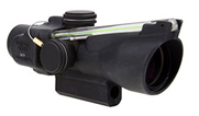 Trijicon 3x24 Compact ACOG Crossbow Scope Dual Illum Green Chevron 400-440+ 400145 400145