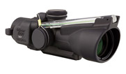 Trijicon 3x24 Low Compact ACOG Dual Illuminated Green Horseshoe Ballistic Reticle TA50-C-400234 TA50-C-400234