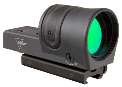 Trijicon 1x42 Reflex, Amber 4.5 MOA Dot Reticle, ACOG Base (with TA51 Flattop Mount)CK-Sniper Gray 800107