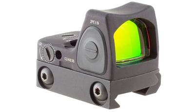 Trijicon RMR Sight Adjustable LED 1.0 MOA Red Dot w/RM33 Mt RM09-C-700308