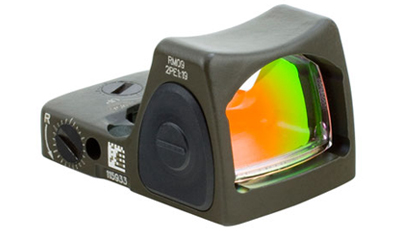 Trijicon RMR Sight Adjustable LED 1.0 MOA Red Dot - Cerakote OD Green RM09-C-700306 RM09-C-700306