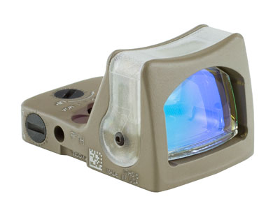 Trijicon RMR® Dual Illuminated Sight -9.0 MOA Amber Dot-CK-FDE RM05-C-700189 RM05-C-700189
